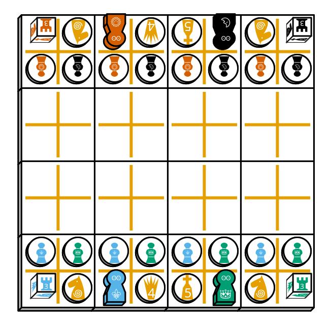 (FIDE) Chess starting diagram